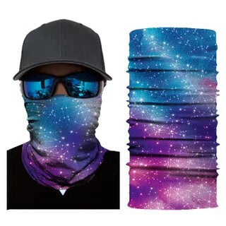Multifunction Face Cover Bandana Headband Sun UV Protection Dustpoof Windproof Breathable Outdoor Riding FS104-13