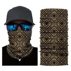 Multifunction Face Cover Bandana Headband Sun UV Protection Dustpoof Windproof Breathable Outdoor Riding FS104-14