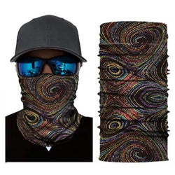 Multifunction Face Cover Bandana Headband Sun UV Protection Dustpoof Windproof Breathable Outdoor Riding FS104-15