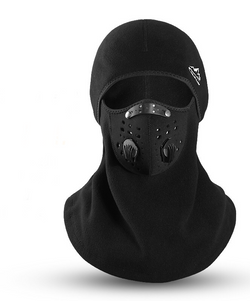 Black Balaclava Sun UV Protection Dustpoof Windproof Breathable Outdoor Riding FS108