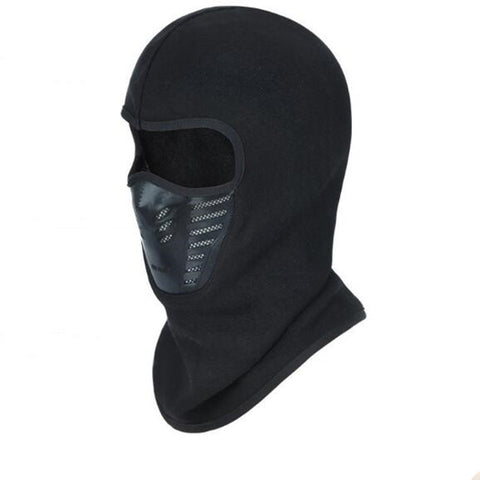 Balaclava with thin lining Black