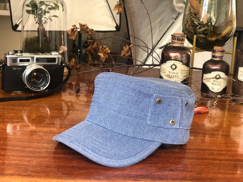 TC102 Brim&Brawn Army Cap Blue
