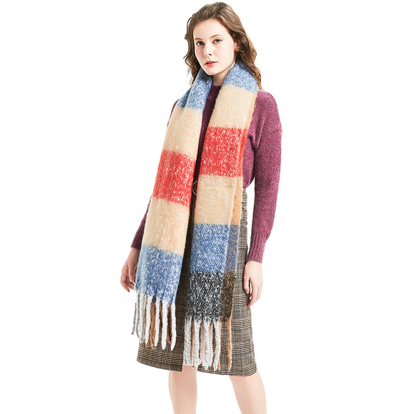 WS108 Warm Scarf Multi Colours