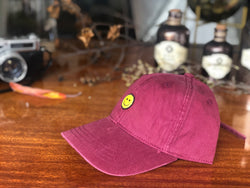 BC104 KPOP Long Tail Baseball Cap Maroon