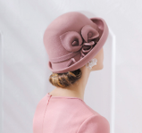 Lady Felt Hat 100% Wool FH106