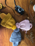 KB20113 Kids Beanie with Ear Flaps and Lining Multi Colours