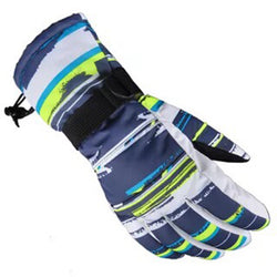 WGXX Waterproof Ski Glove with Sizes  Adult  Multi Colours