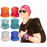 Multifunction Face Cover Bandana Headband Sun UV Protection Dustpoof Windproof Breathable Outdoor Riding BXHA018