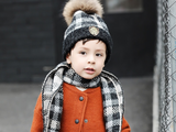 KB114 Kids Beanie with Pompom and Soft Lining in Various Colours (Beanie Only)