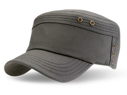 TC101 Brim&Brawn Army Cap Grey