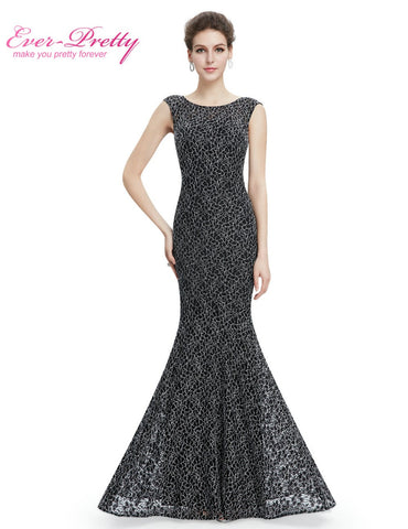 Black Mother Of The Bride Dresses Plus size Ever Pretty HE08788 Long Mermaid Mother Of The Bride Dresses