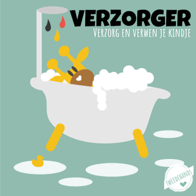 Verzorging baby tweedehands commode