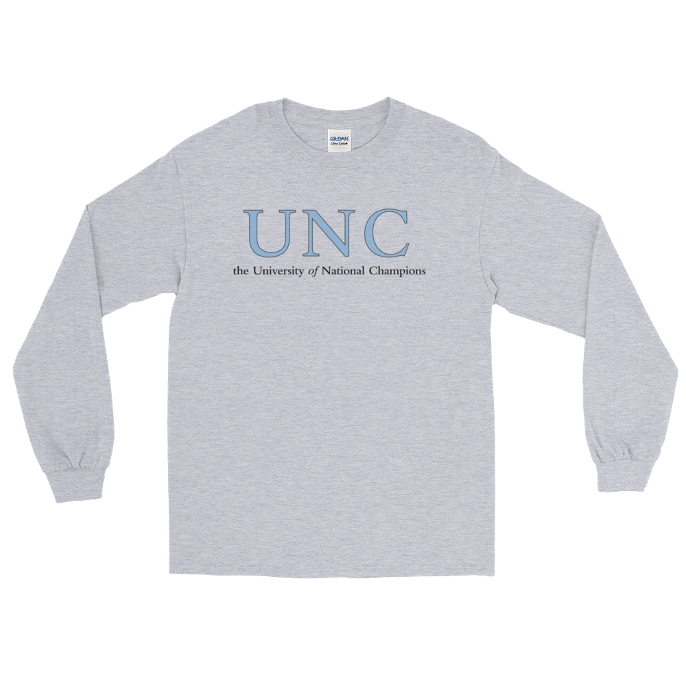 University Of National Champions Long Sleeve T-Shirt