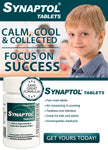 Synaptol Tablets - Natural Hyperactivity & Inattention Relief