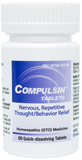 Compulsin Tablets - Nervous, Repetitive Thoughts/Behavior Relief