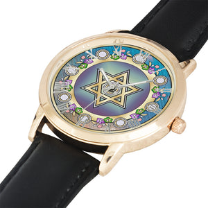 Judaica Star of David Flower Watch By BenJoy