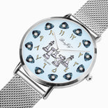 Arabic Stainless Steel Perpetual Calendar Chess Watch By BenJoy