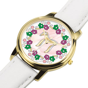 Floral Judaica Chai Watch By BenJoy