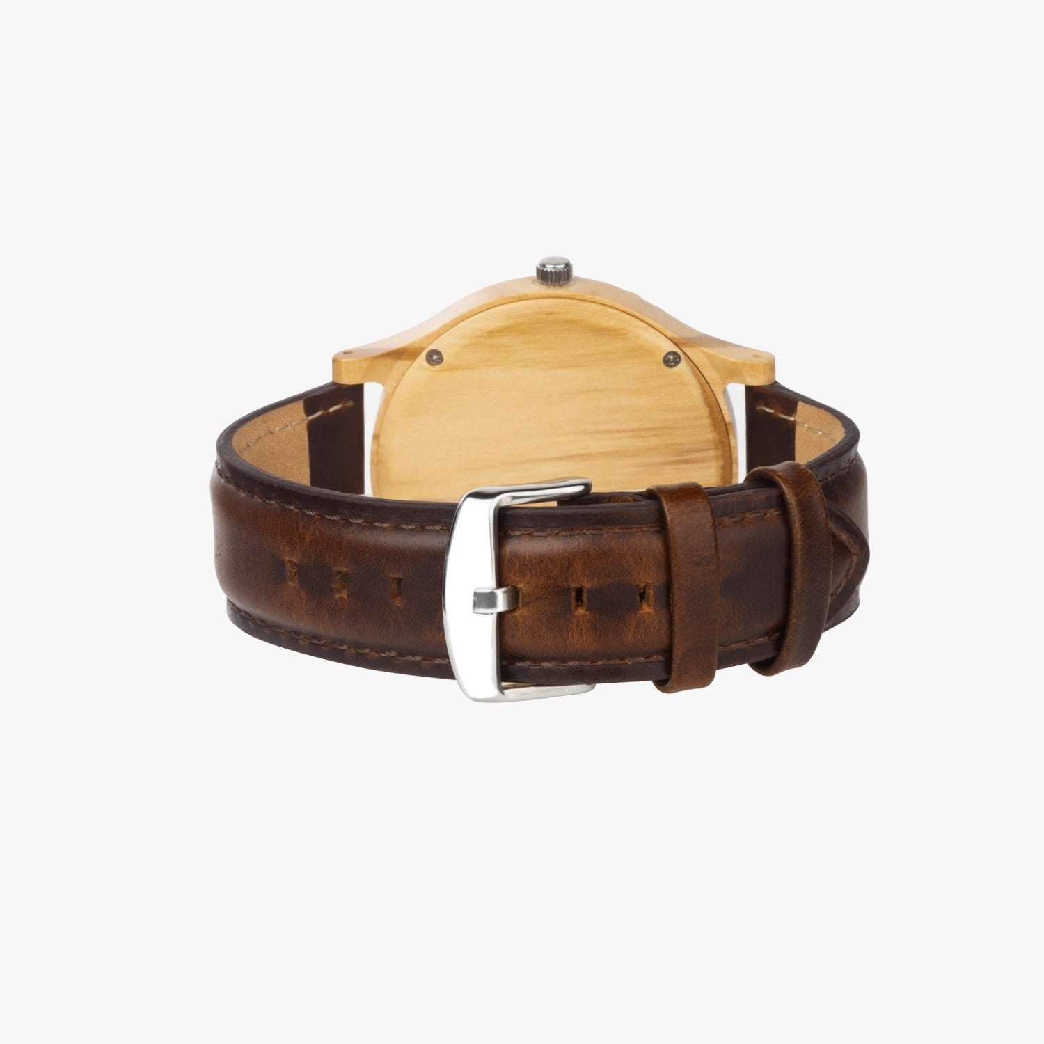 Judaica Personalize Wooden Watch By BenJoy