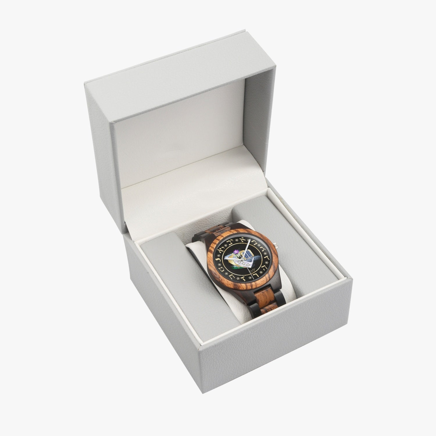 Judaic Heart Wooden Watch By BenJoy