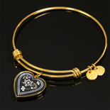 Judaic Star of David Heart Bracelet By BenJoy