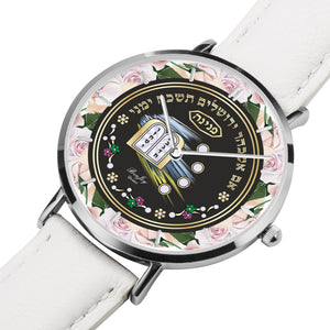 Personalized Rose Lining Ten Commandments Watch By BenJoy