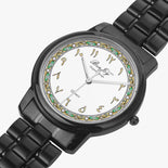 Arabic Dial Folding Clasp Type Stainless Steel Quartz Watch By BenJoy