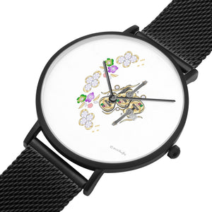 Flowers And Guitar Watch By BenJoy