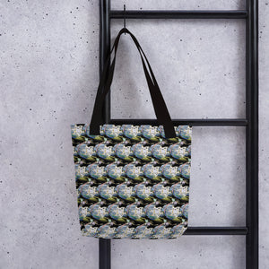 Star Of David Ray Of Color Pattern Tote Bag