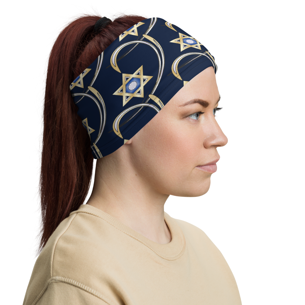 Judaica Star Of David Neck Gaiter By BenJoy