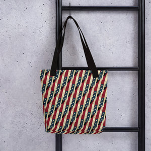 Stars & Strips Tote Bag By BenJoy