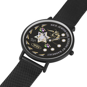 Judaica Star Black Watch By BenJoy