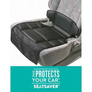 Compact Seat Saver Black - Hushabyebaby.co.uk
