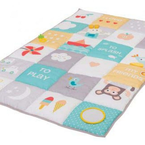 I Love Big Mat Soft Colours By Taf Toys - hushabyebaby-co-uk