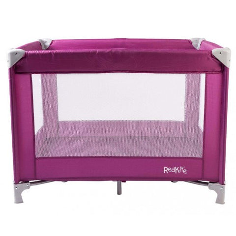 Red Kite Travel Cot - Pink - Hushabyebaby.co.uk