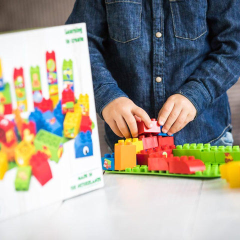 Learn to Build - 40 Blocks BioBuddi - hushabyebaby-co-uk