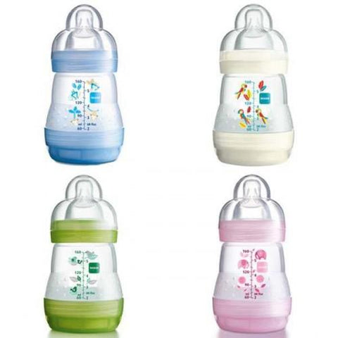 MAM Anti-Colic 160 ml Bottle 1 pack - Hushabyebaby.co.uk