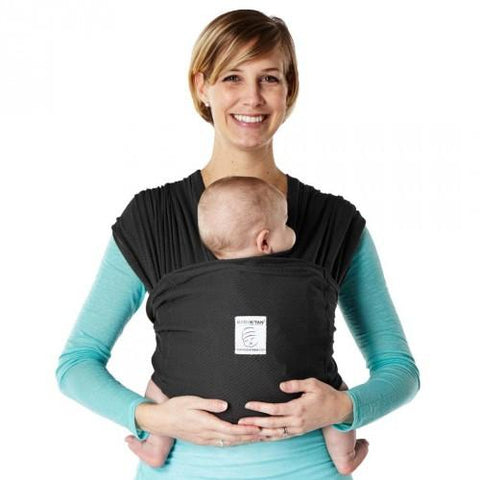 Baby K'Tan Breeze Mesh Carrier - Black  Size Small - Hushabyebaby.co.uk