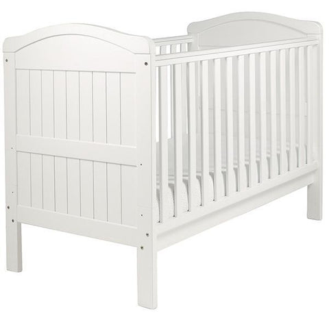 East Coast Country Cotbed - White - Hushabyebaby.co.uk