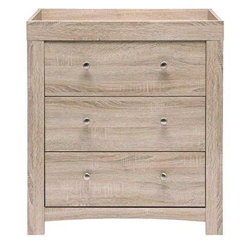East Coast Fontana Nursery Dresser - Hushabyebaby.co.uk
