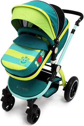 2 in 1 iSafe Pram System - Lil Friend (Limited Edition) - Hushabyebaby.co.uk
