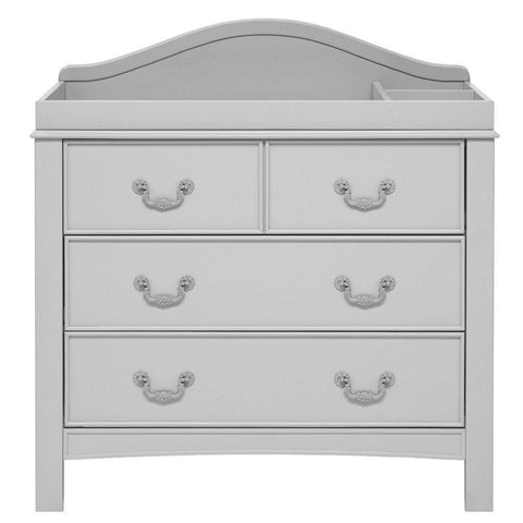 East Coast Nursery Dresser Toulouse French Grey - hushabyebaby-co-uk