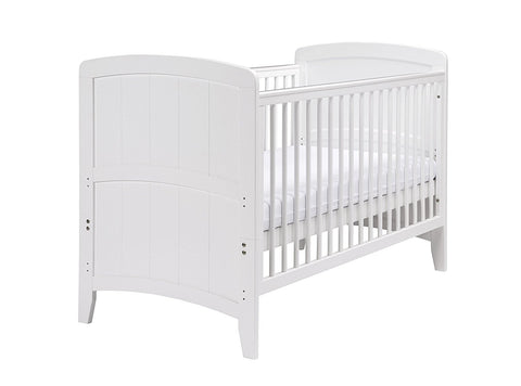 East Coast Nursery Cotbed Venice - White - Hushabyebaby.co.uk