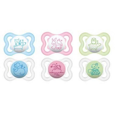 MAM Air 0+month Soother x 2 - Hushabyebaby.co.uk