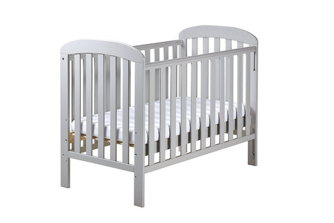 East Coast Nursery Cot Anna - Grey - Hushabyebaby.co.uk