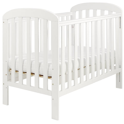 East Coast Nursery Cot Anna White - Hushabyebaby.co.uk