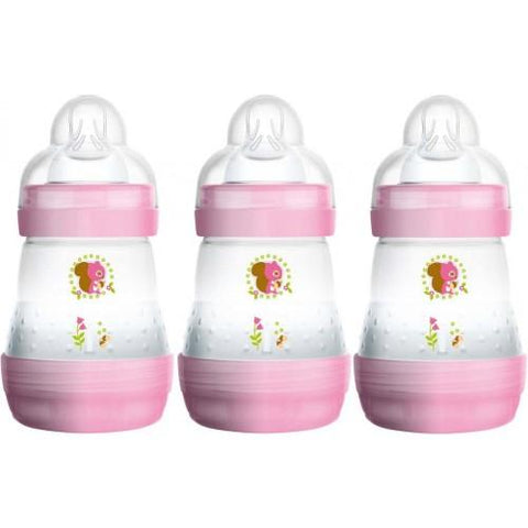 Anti-colic 160 ml 3 pack GIRL - Hushabyebaby.co.uk