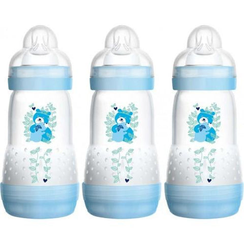 Anti-colic 260 ml 3 pack BOY - Hushabyebaby.co.uk