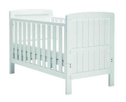 East Coast Nursery Cotbed Austin White - Hushabyebaby.co.uk
