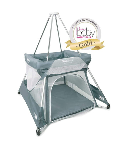 Babyhub SleepSpace - Grey - Hushabyebaby.co.uk